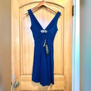 BCBG Royal blue cocktail dress